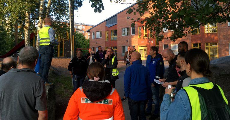 Trygghetsvandring i Rinkeby
