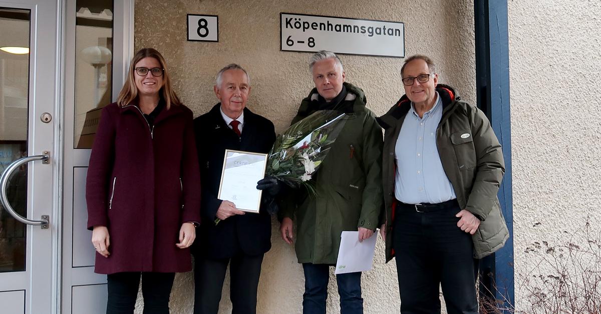 Trygghetscertifiering brf Brandsö