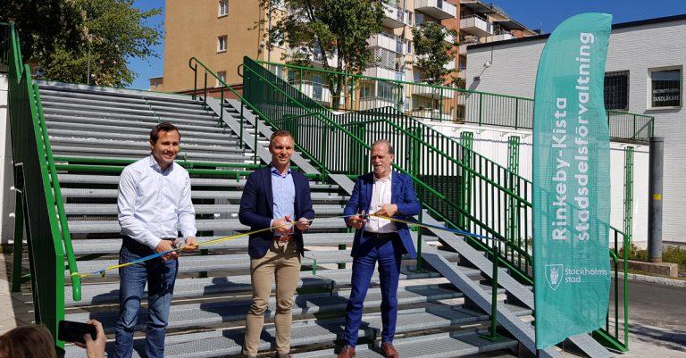 Invigning Skårbygränd