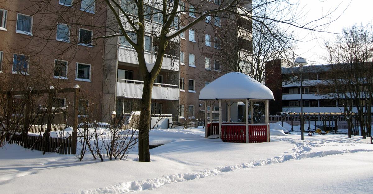 vinter i Järva