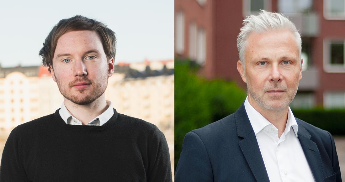 obias Karström och Ulf Malm