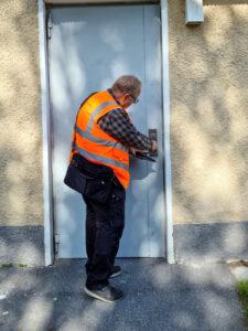 Trygghetsbesiktning hos Svenska Bostäder